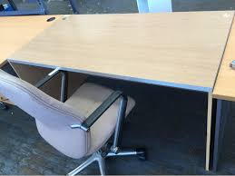 mobile office desk office desk with mobile office chair 1500x750x750mm