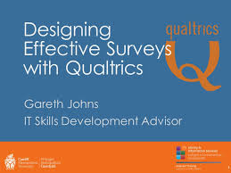 qualtrics theme design designing effective surveys with qualtrics gareth johns it skills