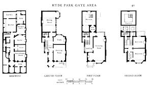 kensington palace 1a floor plan meze blog figure 14 no 1a palace gate plans