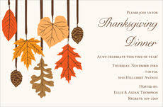 thanksgiving invitations free shipping the stationery studio