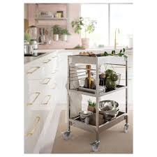 stainless steel kitchen cabinets ikea kungsfors kitchen cart stainless steel ikea