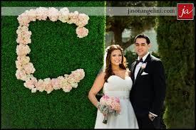 wedding backdrop monogram wedding ceremony idea floral monogram ceremony backdrop venue