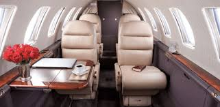 Encore Interior Cessna Citation Encore Private Light Jet Charter