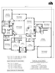5 Bedroom House Plans 2 Story by 2 Story 4 Bedroom 5 1 2 Bathroom 1 Dining Area 1 Family Room