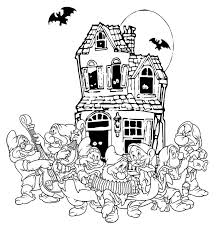 snow white halloween coloring pages u2013 festival collections