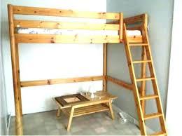 bureau lit mezzanine lit mezzanine bois 1 place fabulous mezzanine place bois blanc avec