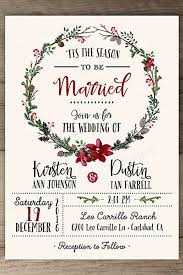 invitations wedding christmas wedding invitations wedding corners
