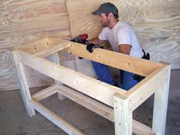 Solid Core Door Desk Easy To Build Workbench Extreme How To