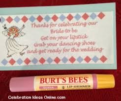 easy bridal shower cheap bridal shower favor idea