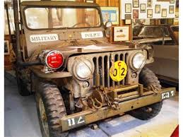 military police jeep 1951 willys jeep for sale classiccars com cc 937995