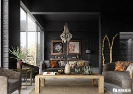 interior modern african bedroom decor with earth tone earth