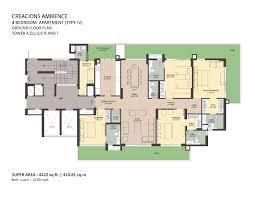 executive tower b floor plan floor plans of ambience creacions sector 22 gurgaon ambience