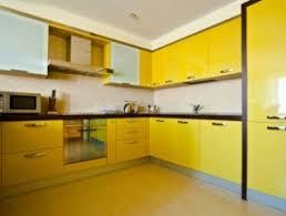 meuble cuisine jaune quelle couleur pour quelle pièce