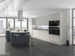 cuisine gris anthracite ordinary cuisine blanche avec plan de travail bois 10 cuisine
