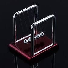 Swinging Desk Balls Newtons Cradle Toys U0026 Games Ebay