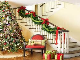 Banister Decorations Ideas To Decorate House For Christmas