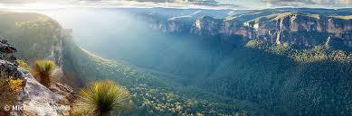 australian landscape photography perrys lookdown blue