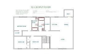 split foyer floor plans floor plan