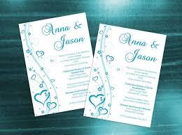 the 25 best wedding invitation card template ideas on