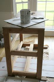 farmhouse kitchen island diy noting grace