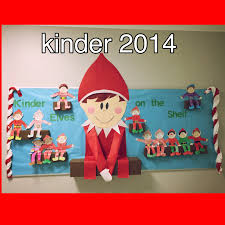 elf on the shelf bulletin board students loved this made this