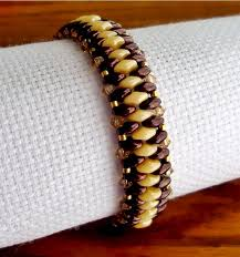 bracelet patterns free images Free pattern for bracelet just with superduo beads magic free jpg
