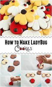 Ladybug Home Decor Best 25 Ladybug Cookies Ideas On Pinterest Butterfly Cookies