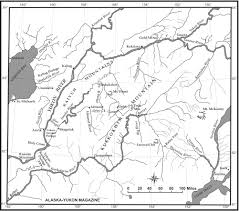 Route 40 Map by Map Of Walter Goodwin U0027s Iditarod Trail Area U2013 Mapping Solutions