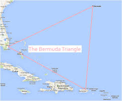 Palm Bay Florida Map The Bermuda Triangle Is An Unofficial Area Between 3 Points