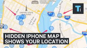 Grand Central Terminal Map There U0027s A Hidden Map In Your Iphone Of Everywhere You U0027ve Been