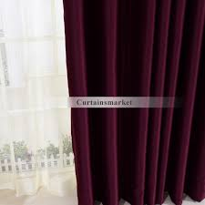 Magenta Curtain Panels Purple Window Panels Curtains In Cool For Blackout