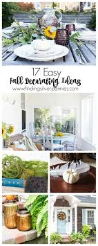 17 easy fall decorating ideas finding silver pennies