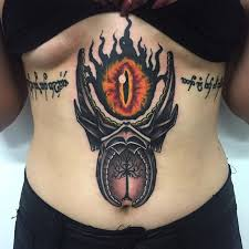 mordor ink cool tattoo of sauron u2013 mordor the land of shadow