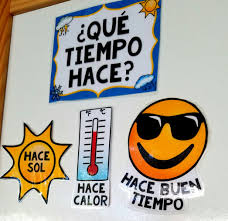 spanish weather board labels bulletin board spanish and spanish