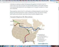 Keystone Xl Pipeline Map Tar Sands Waters Life