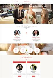 wedding planner websites 55 wedding themes templates for wedding agency