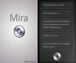 assistant app for android mira android app a siri like voice assistant app the android soul