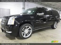Cadillac Escalade 2014 Interior Black Raven 2014 Cadillac Escalade Esv Premium Awd Ebony Ebony