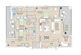 Unit Floor Plans Floorplans The Pearl Sarasota Florida Elegant And Distinctive