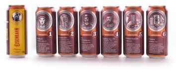 Super Eisenbahn enaltece personagens da história da cerveja nas latas  &DZ28