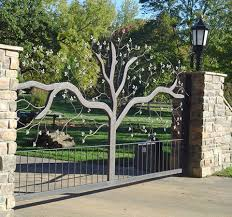 best 25 driveway security gates ideas on iron gates