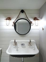 Beachy Bathroom Mirrors Style Bathroom Mirrors Best Coastal Light Fixtures Ideas On