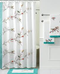 Shower Curtains by Lenox Simply Bath Accessories Chirp Shower Curtain