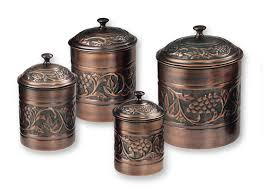 pretty in food canisters for d copper kitchen canister set as as image d copper kitchen canister set canisters for kitchen jpg
