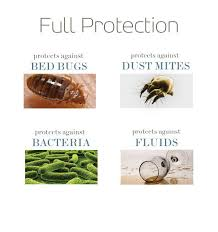 Mattress Cover Bed Bugs Saferest Zippered Bed Bug Proof Pillow Protector