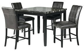 black marble dining table set faux marble dining table set black marble table and chairs black