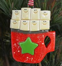 Personalized Ornaments For Large Families Family Ornaments Tis The Season Ornaments