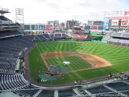 washington nationals stadium seating best seats at nationals park