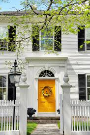 an old new england colonial in the spring new england living