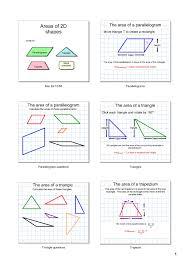 Volume Worksheets Ks3 Ks3 Area And Perimeter U2013 Polygons Teachit Maths